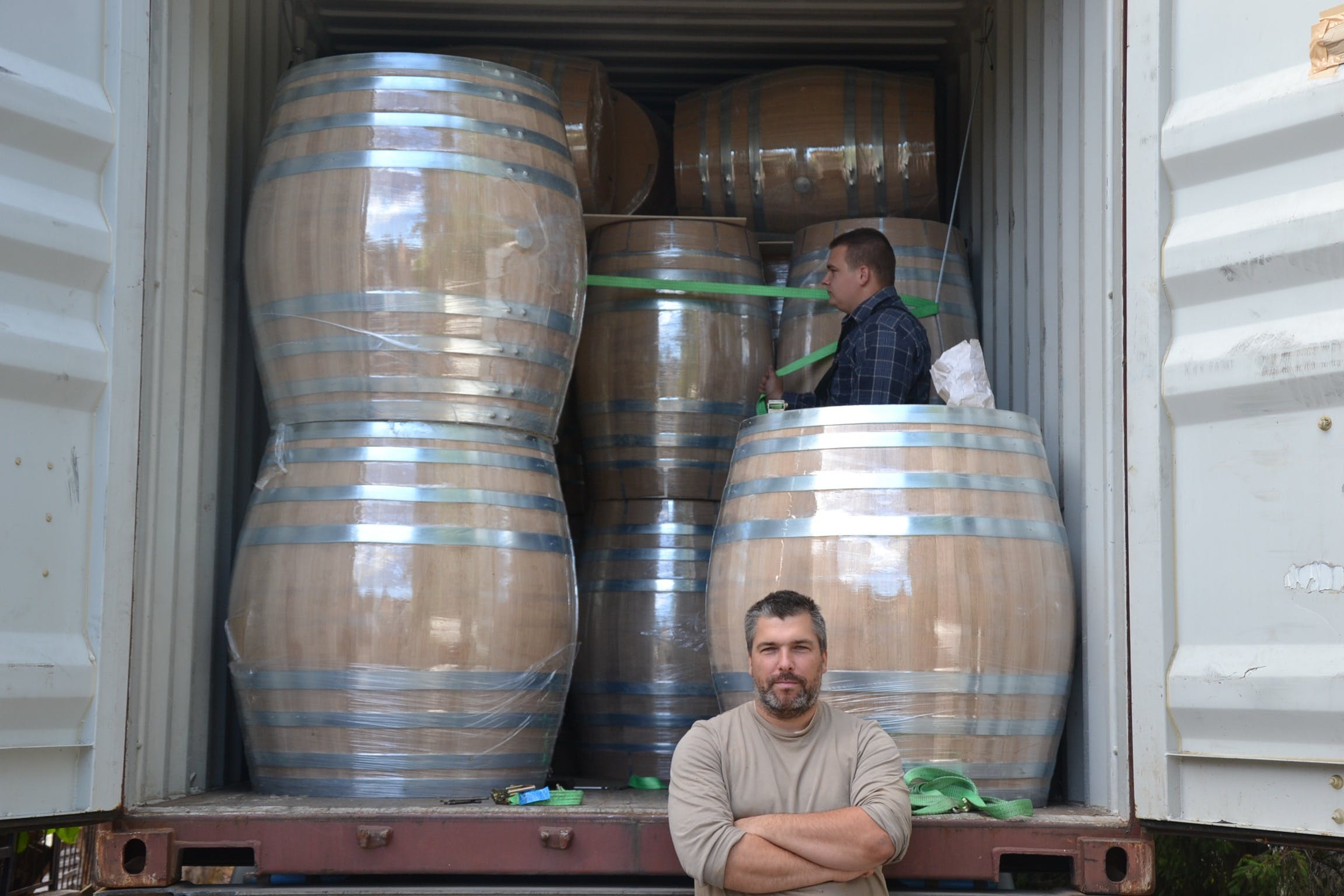 500 litres barrel – French and Hungarian type, great oak barrel, 500 litres Barrel sold by Mueller Pot Stills Inc