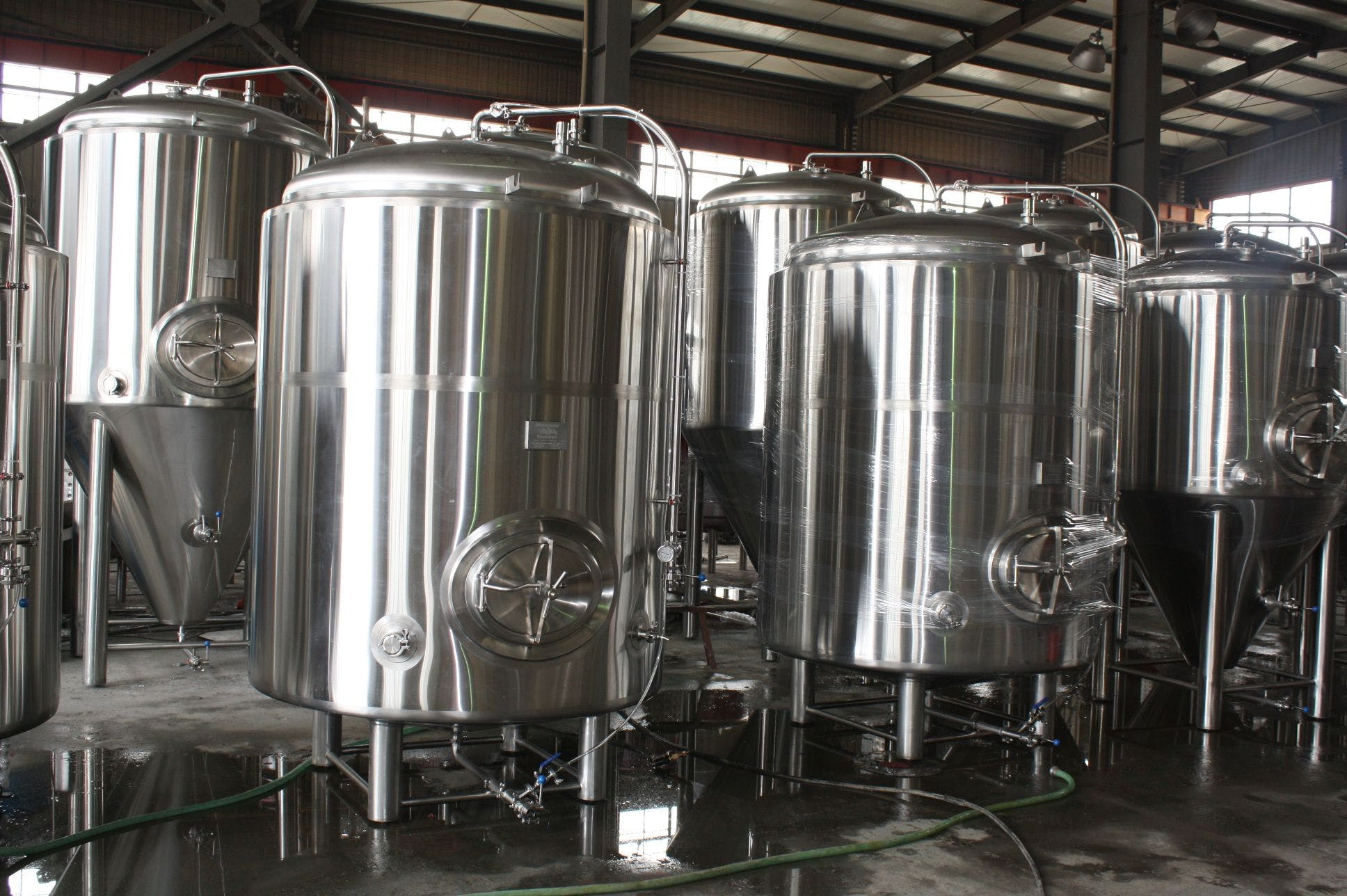 30 bbl brite tanks Brewery tank sold by Ager Tank & Equipment Co.