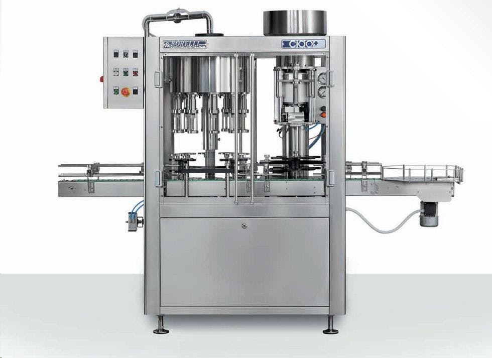 Borelli Ciao+ Bottling machinery sold by The Vintner Vault