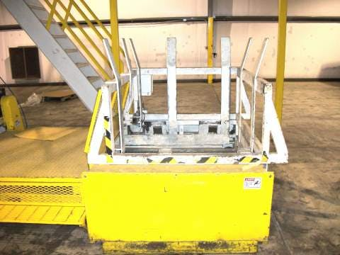 Used Kleenline Depalletizer Double High 48 x 40 Pallets Depalletizer sold by Sigma Packaging