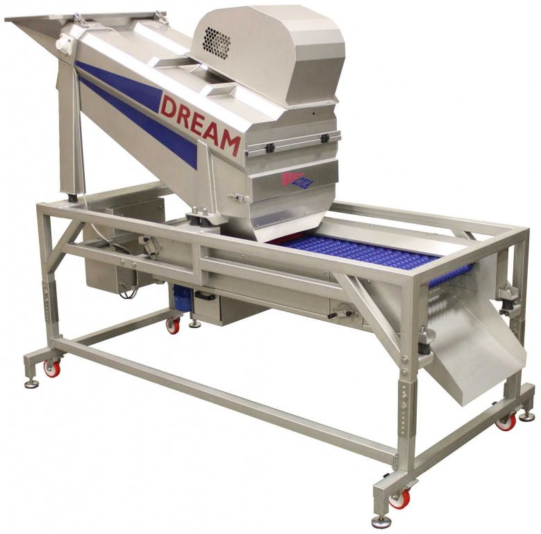 C.M.A. DREAM Grape crusher/destemmers Grape crusher/destemmer sold by Prospero Equipment Corp.
