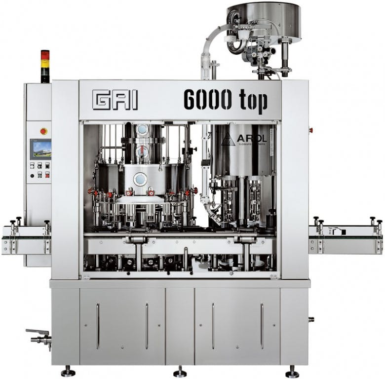 GAI 6000 top/32 Monoblocks Monoblock sold by Prospero Equipment Corp.