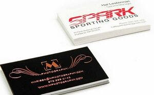 Business Basics Stock Business Cards Stationery sold by Dechan, Inc. II
