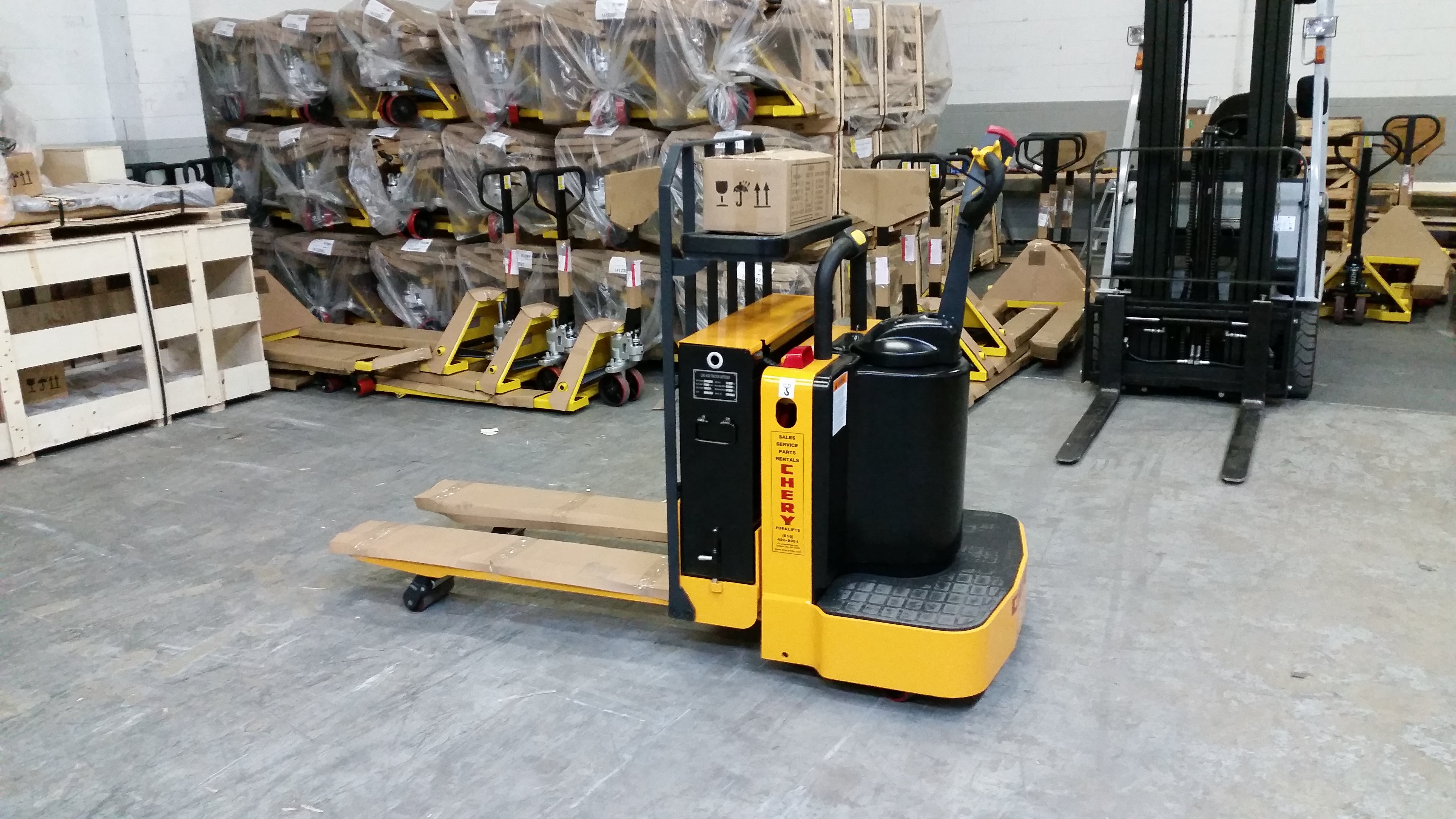 CBD30T Pallet jack sold by CHERY FORKLIFT(NEW YORK) INC