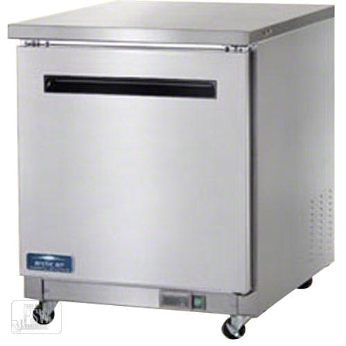 "Arctic Air ( AUC27F ) - 27-7/8"" Single Door Undercounter Worktop Freezer Commercial freezer sold by Food Service Warehouse"