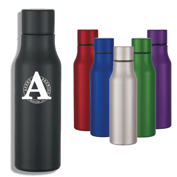 24 oz. Stainless Steel Bottle Promotional water bottle sold by MicrobrewMarketing.com