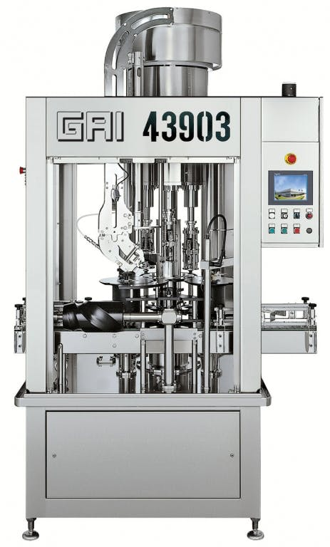 GAI 43903 V1 Capping machines Bottle capper sold by Prospero Equipment Corp.