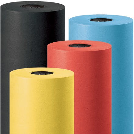 Colored Kraft Paper Kraft packaging sold by Ameripak, Inc.