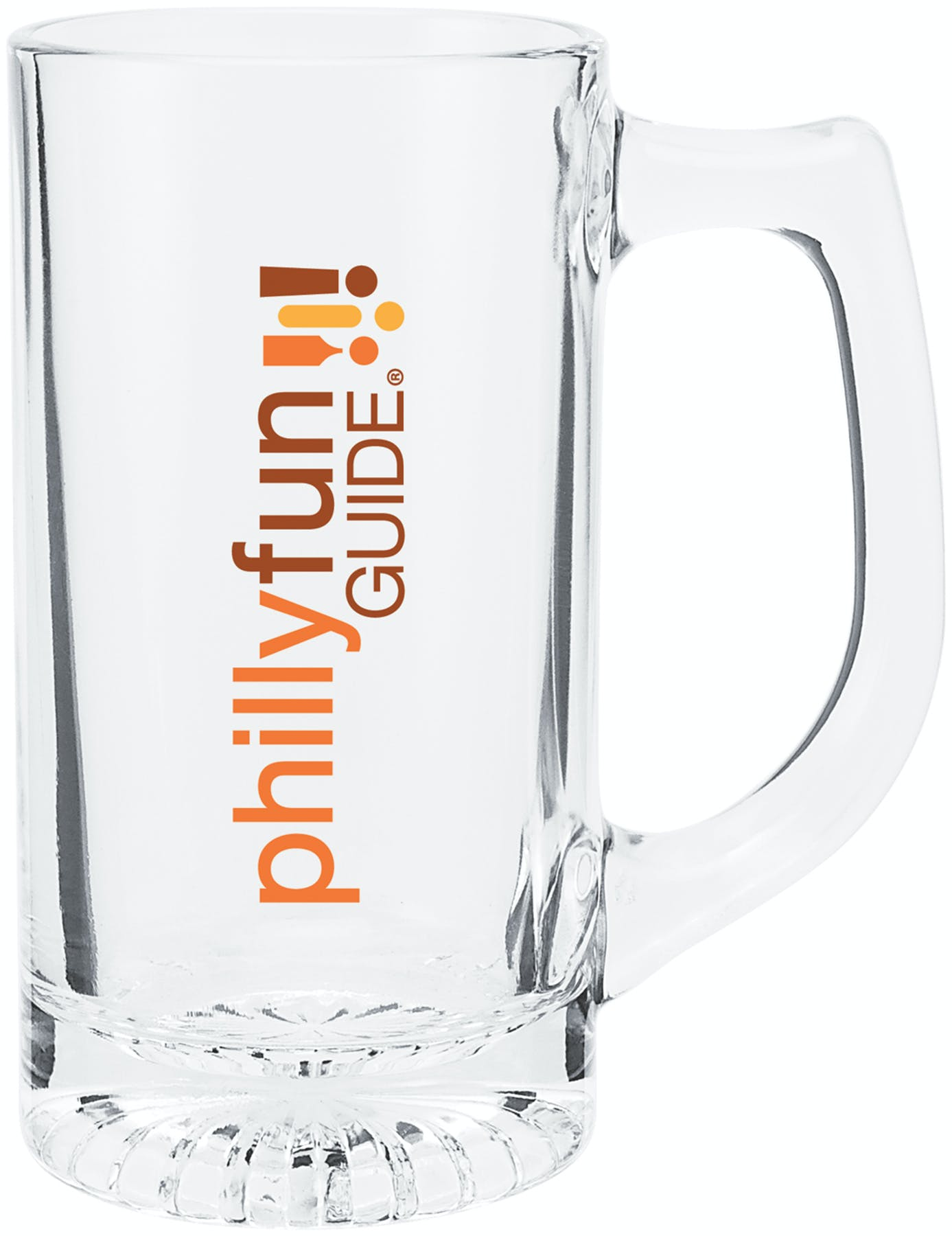 13 Oz. Glass Mug (Item # LBJJN-HLYGY) Glass mug sold by InkEasy