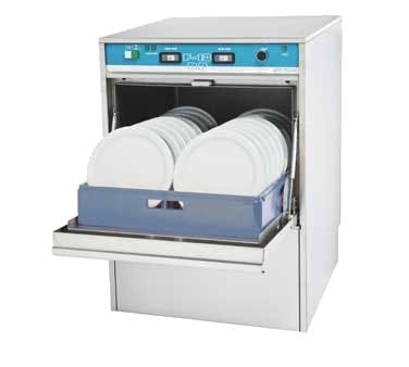 Jet-Tech F-18DP Undercounter Dishwasher (24 racks per hour) Commercial dishwasher sold by pizzaovens.com