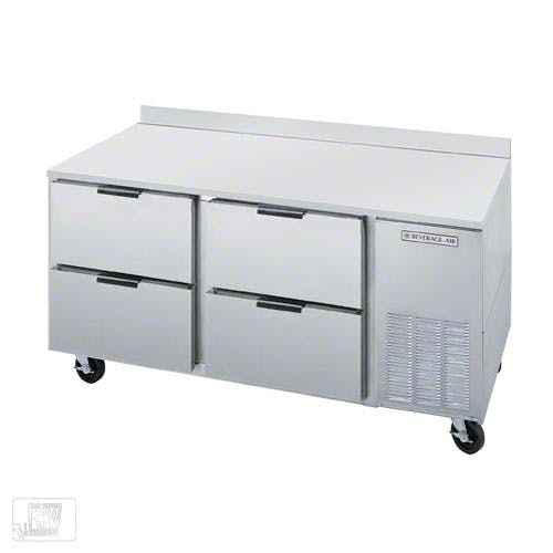 "Beverage Air - UCRD67A-4 67"" Undercounter Refrigerator w/ Drawers Commercial refrigerator sold by Food Service Warehouse"