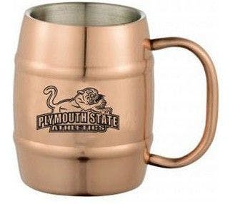 14 Oz. Copper Double Wall Stainless Steel Barrel Beer Mug Beer glass sold by Ink Splash Promos, LLC