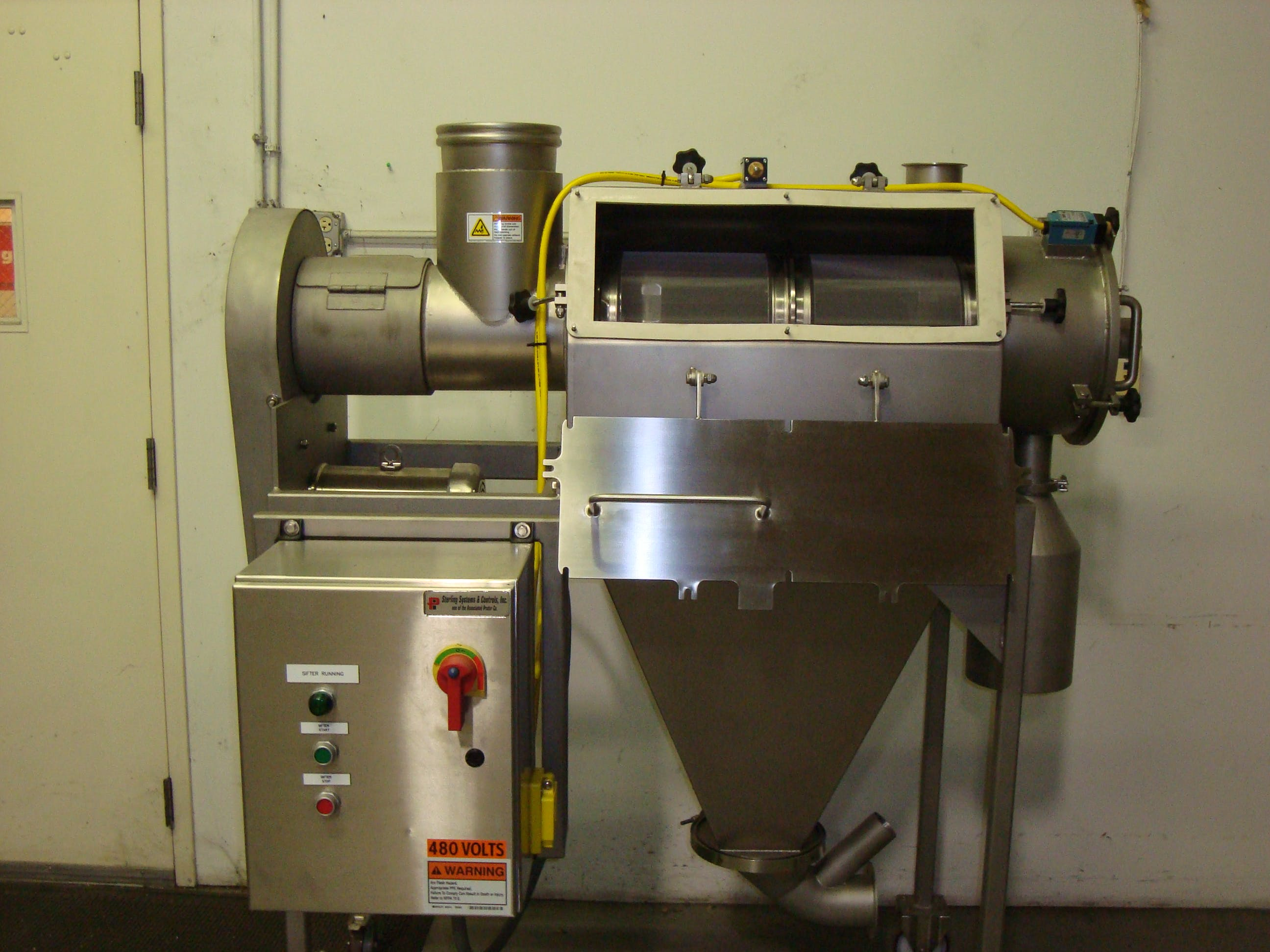 Centrifugal Sifters Screening equipment sold by Prater
