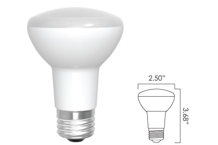 Energetic Lighting R20 LED Lamp 8 Watts - sold by RelightDepot.com
