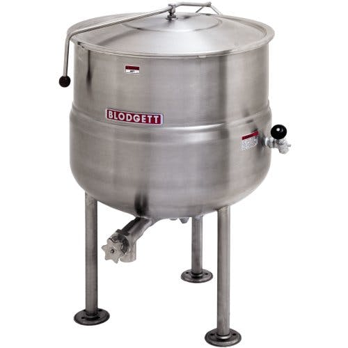 Blodgett (KLS-40DS) - 40 gallon Direct Steam Stationary Kettle