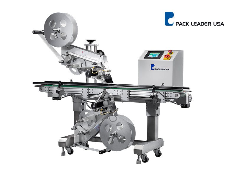 PL-221 Picture - PL-221 Top and Bottom Labeling System - sold by Pack Leader USA, LLC