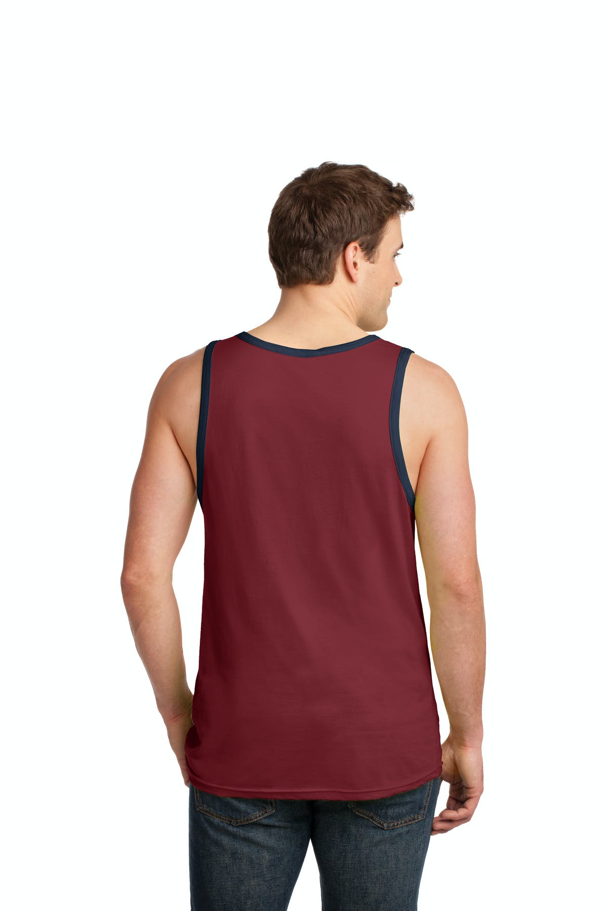 Anvil® 100% Combed Ring Spun Cotton Tank Top - sold by PRINT CITY GRAPHICS, INC