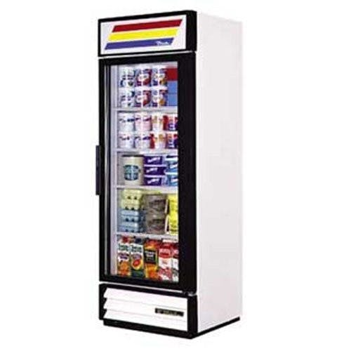 True Manufacturing GDM-19T-LD Glass Door Merchandiser, 1 Door, 19 Cu. Ft., LED Merchandiser sold by Mission Restaurant Supply