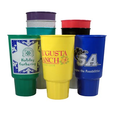 32oz. Car Cup (Item # QJKKN-JYXTM) Plastic cup sold by InkEasy