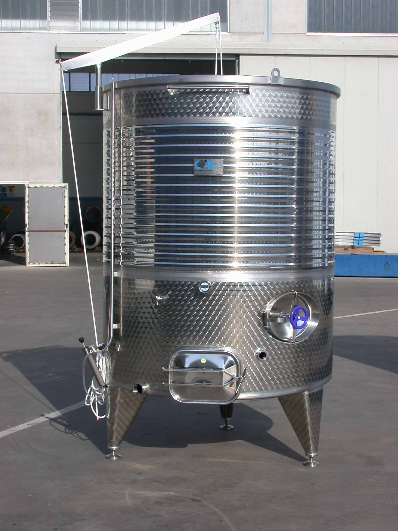 CAI TANKS Wine tank sold by Prospero Equipment Corp.