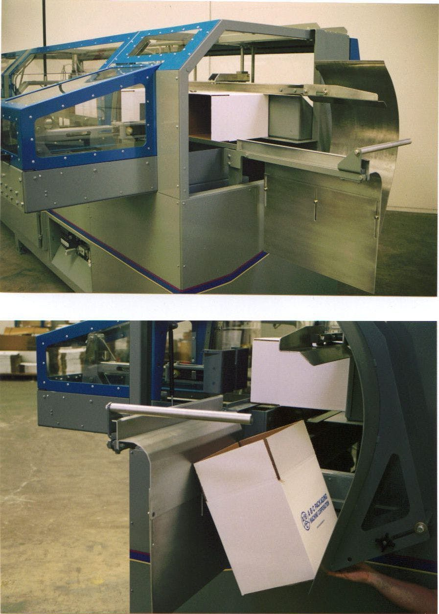 Case Erector Case packer sold by Southwest Packaging Equipment