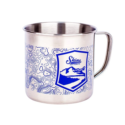 16oz Pint Mug Customized Beer Mug sold by Shine Craft Vessel Co.