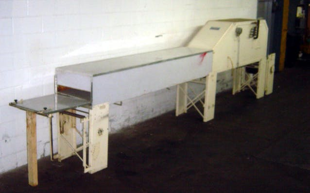 """KREUTER 16"""" WIDE X 19' LONG COOLING TUNNEL - sold by Union Standard Equipment Co"""