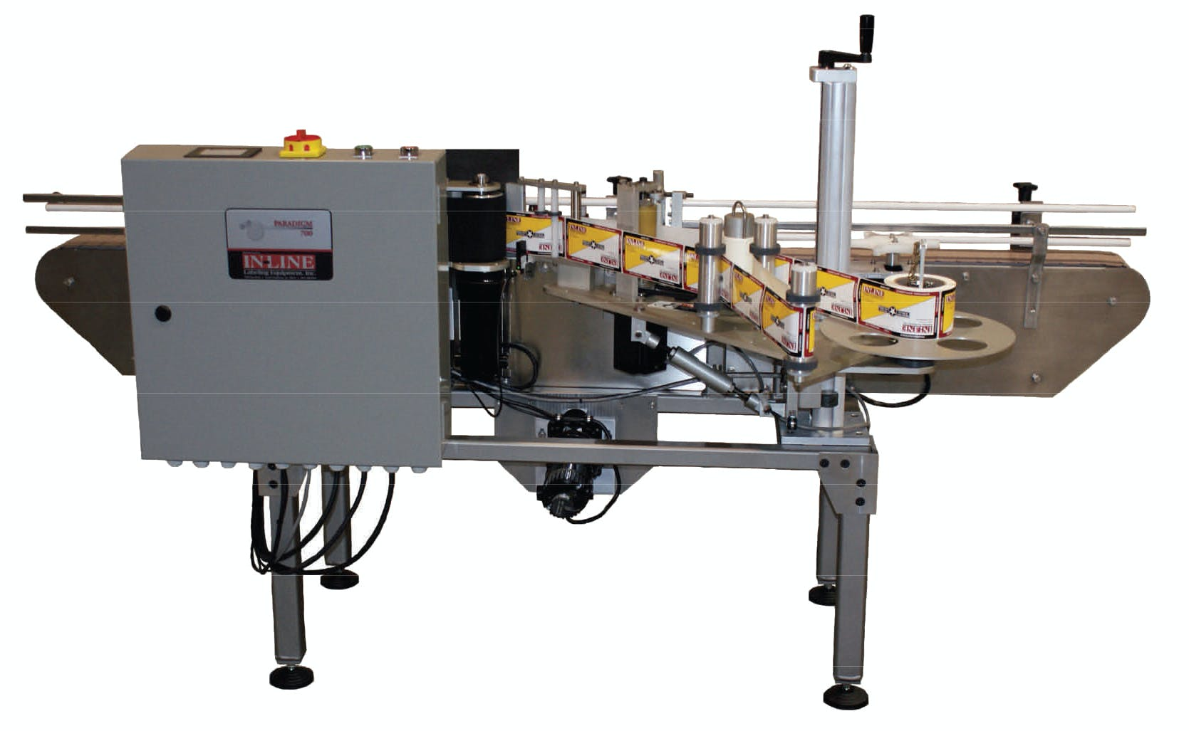 Automatic Labeling Machine Labeling machine sold by Packaging Solutions