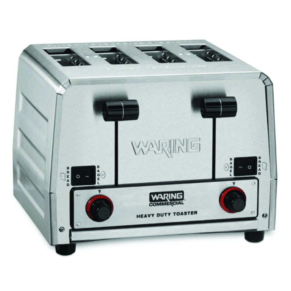 Waring Commercial WCT850RC Commercial Toaster - 300 Slices/Hr, 4 Extra Wide Slots - sold by Mission Restaurant Supply