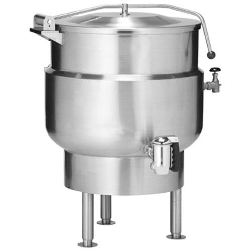 Vulcan-Hart (K20DL) - 20 gallon Stationary Direct Steam Kettle Steam kettle sold by Food Service Warehouse