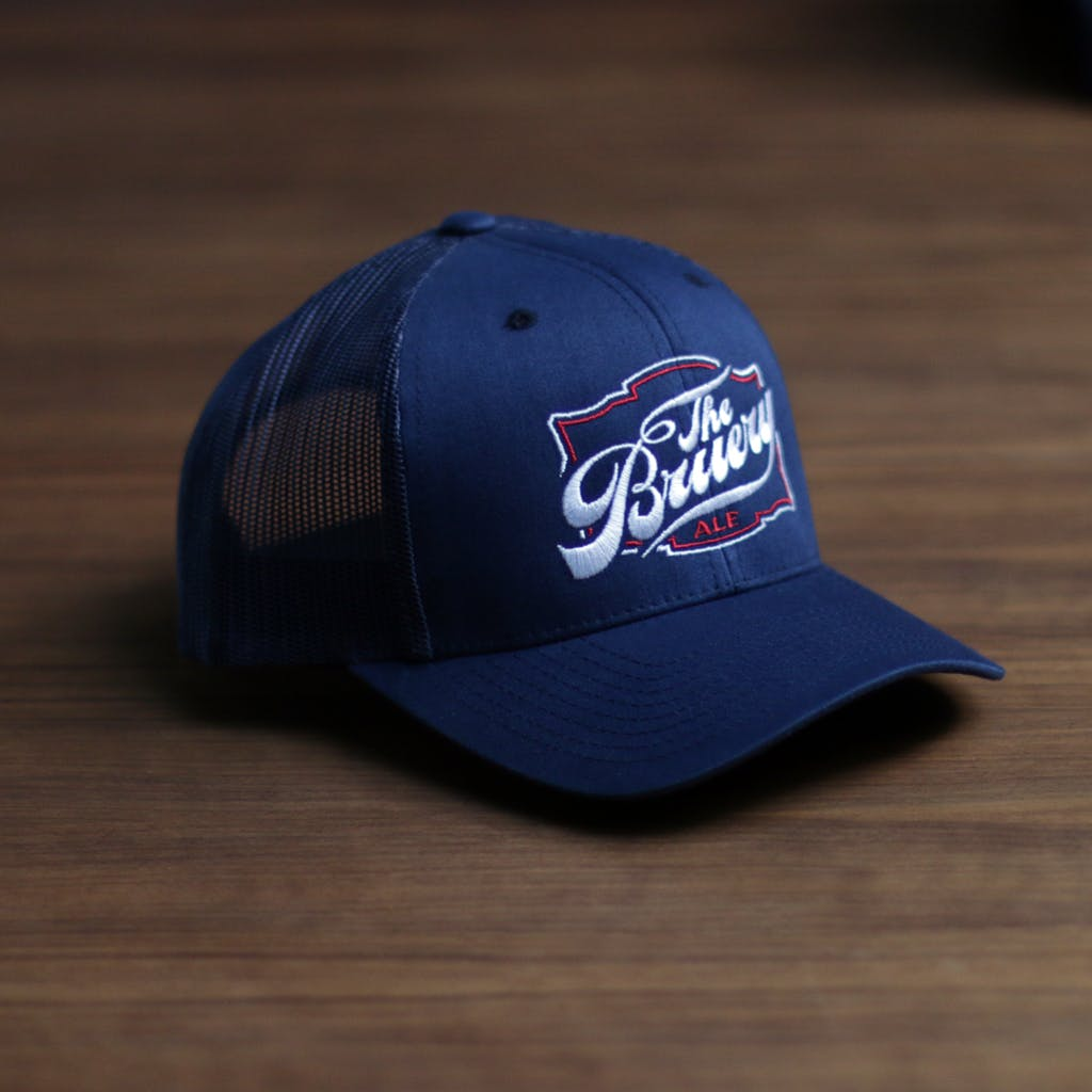 Twill front trucker (solid) Promotional cap sold by Brewery Outfitters
