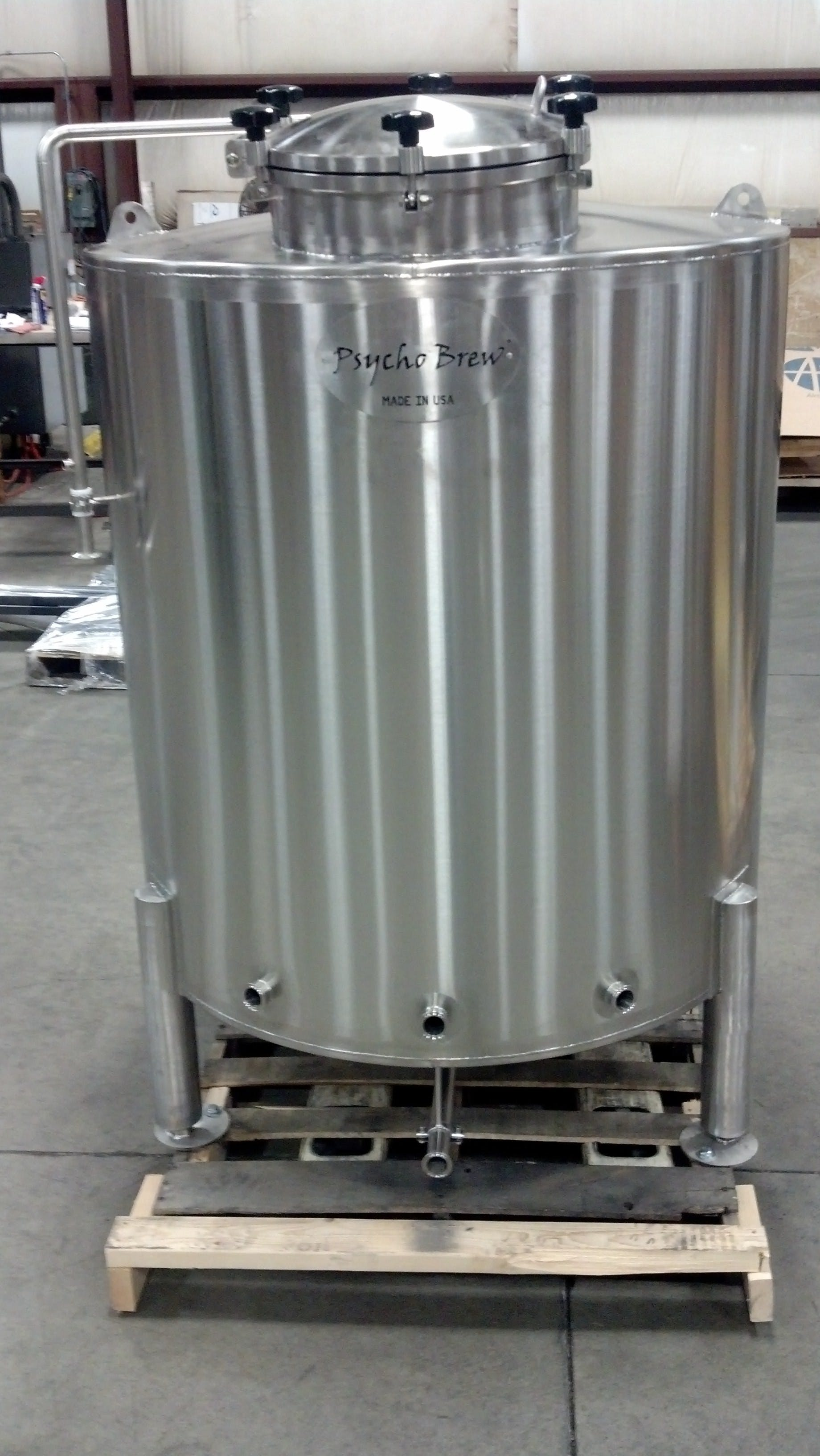 10 bbl Single Walled Brite Tank - Tanks Bright tank sold by Psycho Brew
