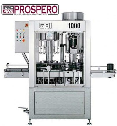 GAI 1000 Bottling machinery sold by Prospero Equipment Corp.