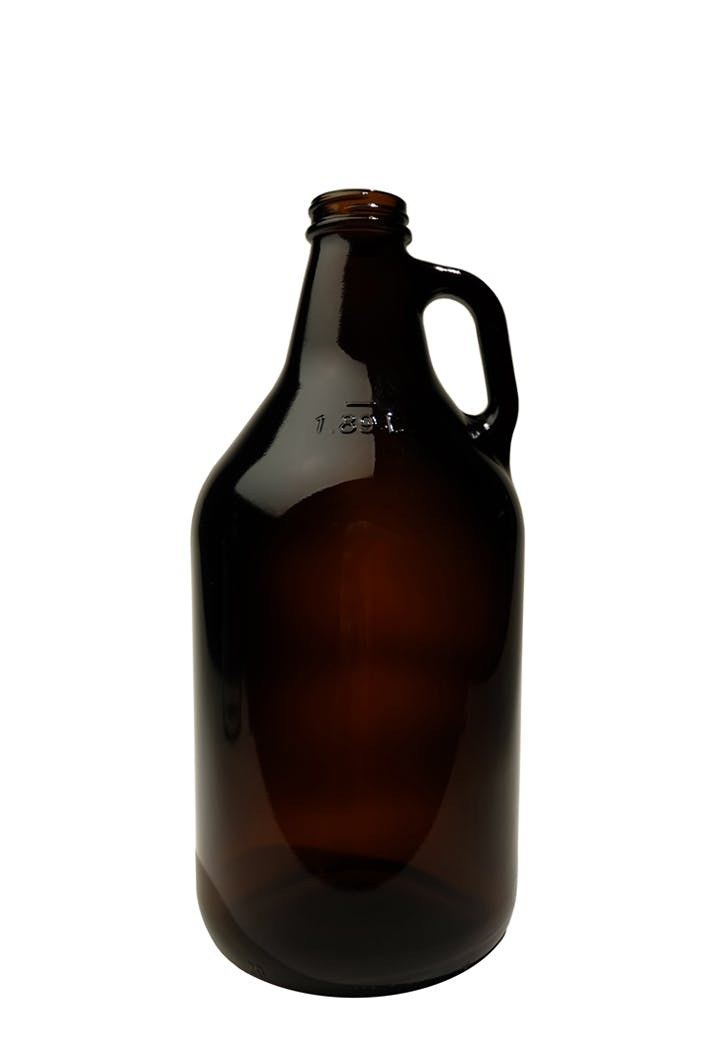 #400 Amber 64oz Screw-top Growler Growler sold by Tote Glass