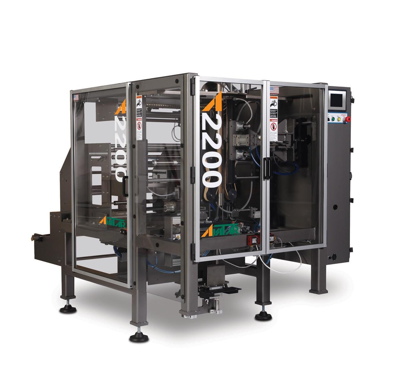 Model A-2200 (V/F/F/S) Form fill seal machine sold by All-Fill