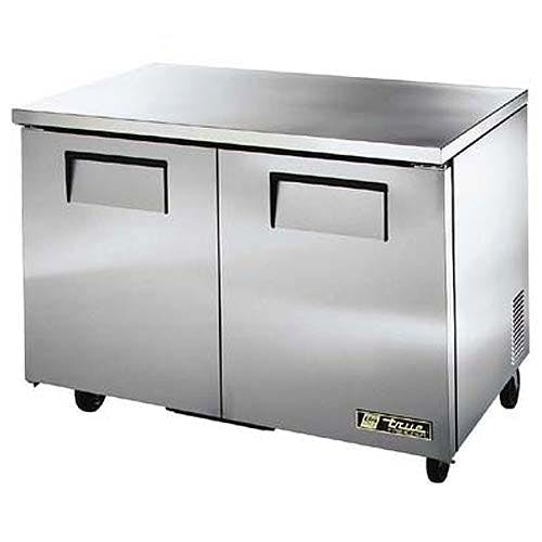 "True ( TUC-48F-LP ) - 49"" Low Profile Undercounter Freezer Commercial freezer sold by Food Service Warehouse"