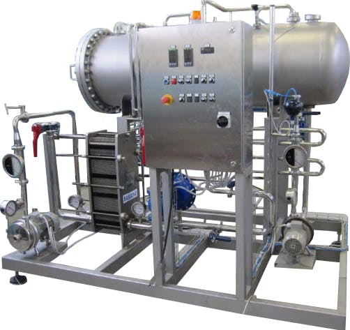 TMCI PADOVAN CARBONATOR 2100 L/H Carbonation units Carbonation unit sold by Prospero Equipment Corp.