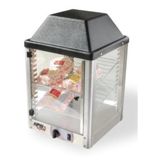 APW DXCI-14 Hot Food Display Case Food warmer sold by pizzaovens.com