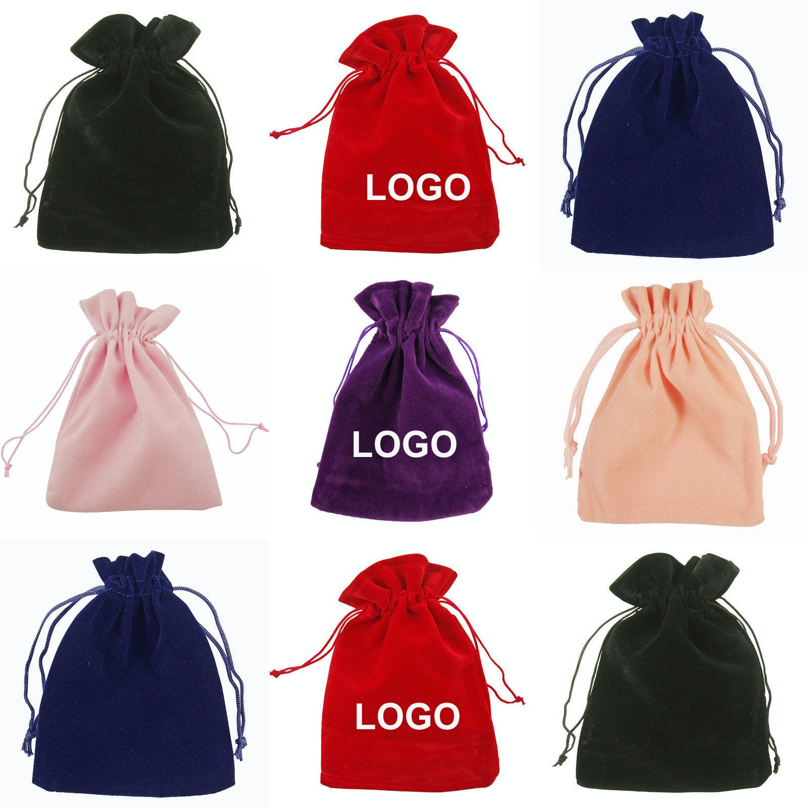 Velvet Pouch (Item # BANNQ-JOBPV) Velvet bag sold by InkEasy