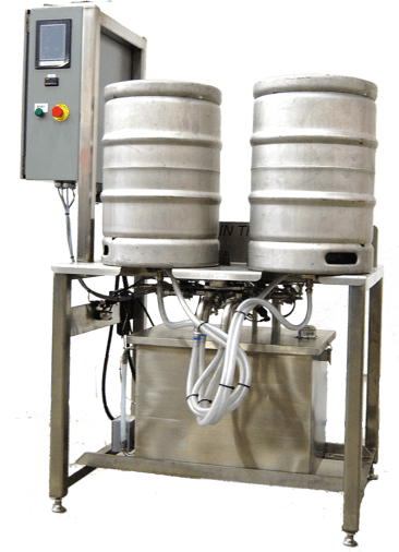 Twin Monkeys Yukon Keg washer sold by Twin Monkeys Beverage Systems