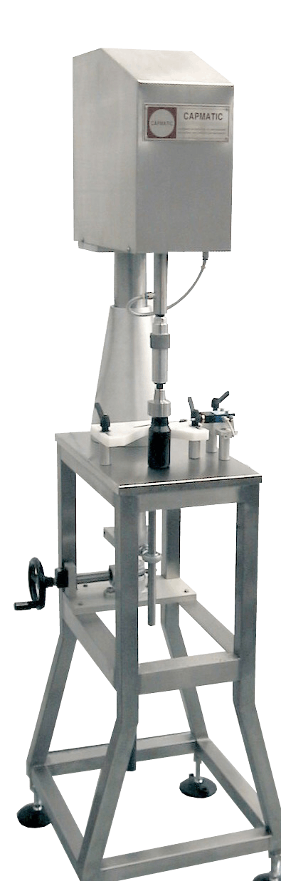 Capmatic Mini-Jolly Semi-Automatic Capper Bottle capper sold by Capmatic