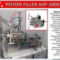 ASP-5000 Single Head Electric & Air Piston Filler / Fills Liquid, Oil, Gel - E-liquid bottle sold by Pro Fill Equipment
