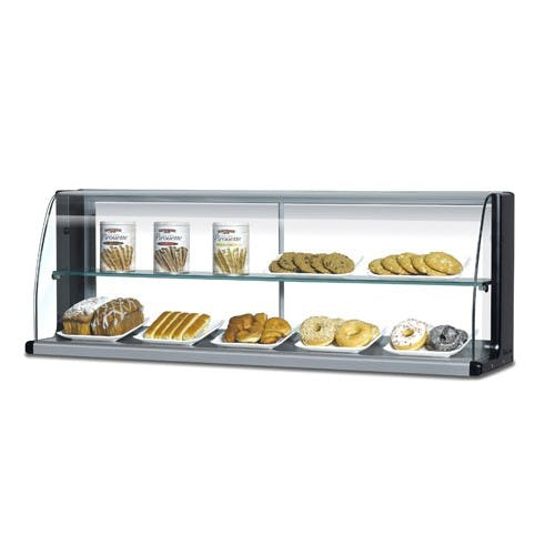 Turbo Air TOMD-40-HB Top Display Dry Case-High For Open Display Merchandiser TOM-40 Food display case sold by Mission Restaurant Supply