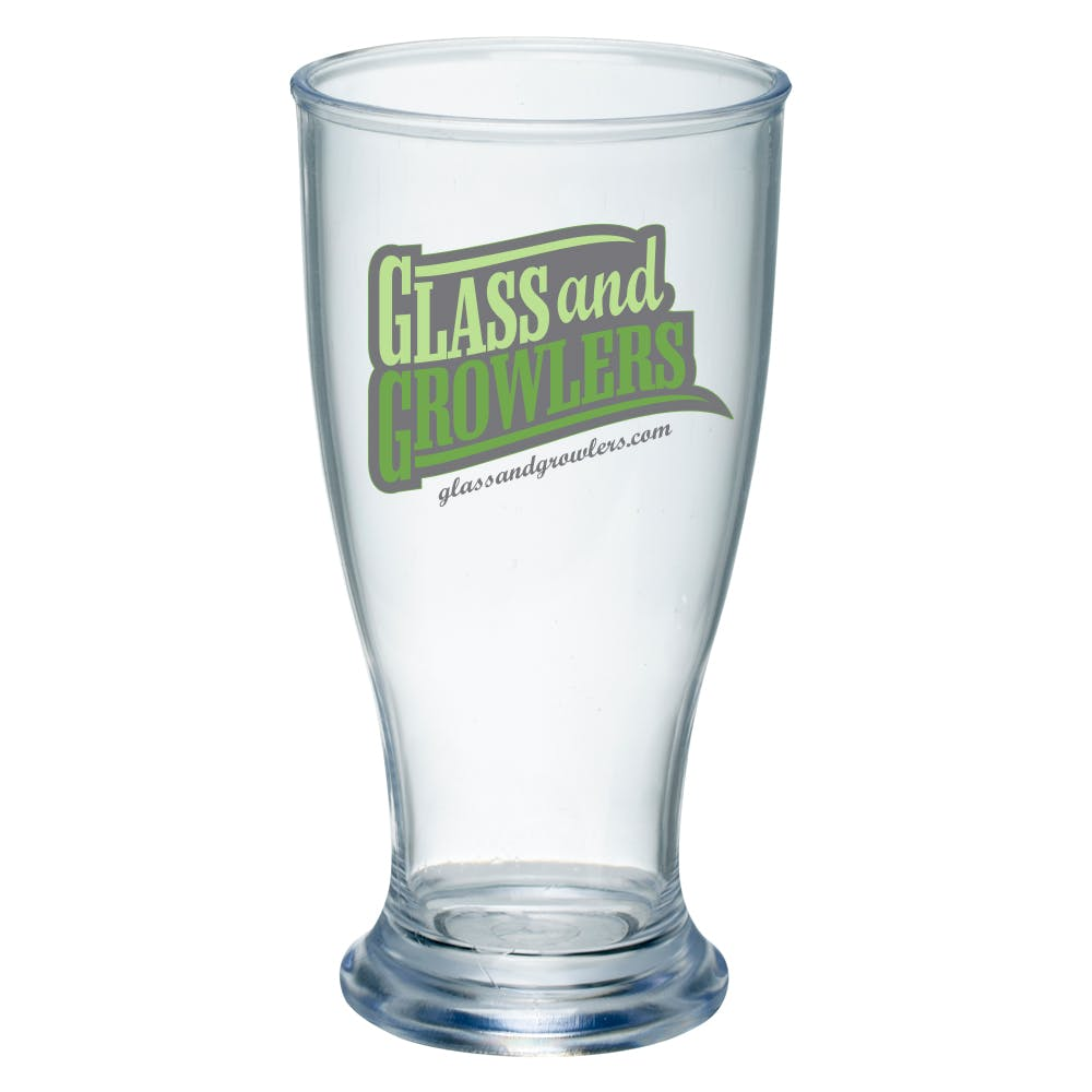 Acrylic Pilsner 5 Ounce Plastic cup sold by Glass and Growlers