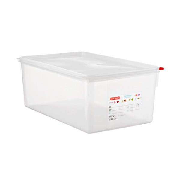 29.6 qt. Full Size Colorclip® Clear Airtight Food Storage Container w/ Lid
