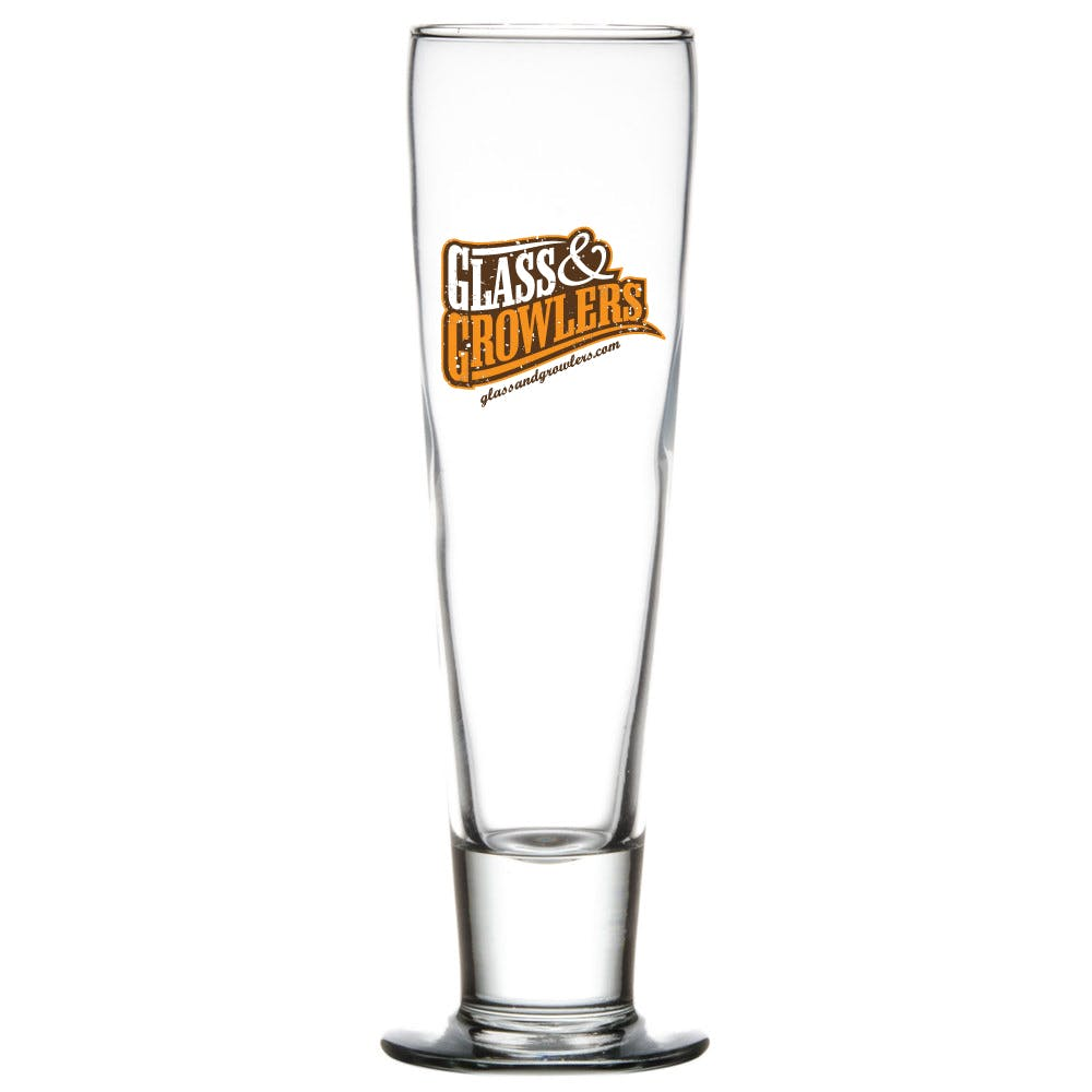 Catalina Pilsner 12 oz Glass Beer glass sold by Glass and Growlers