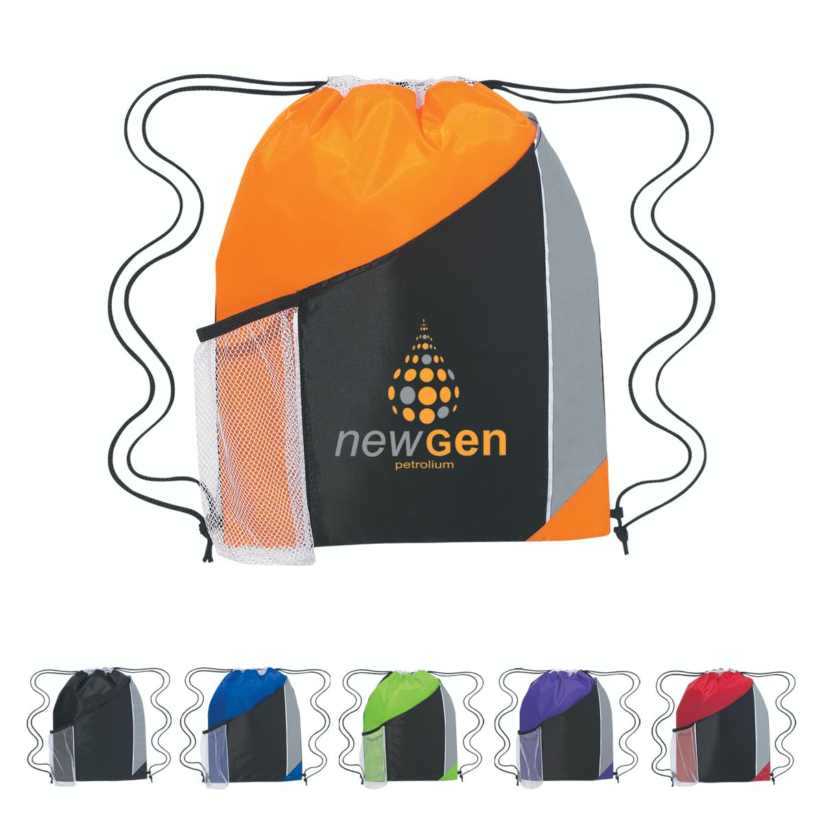 Tri-Color Sports Pack (Item # RGFHO-GGXMV) Backpack sold by InkEasy