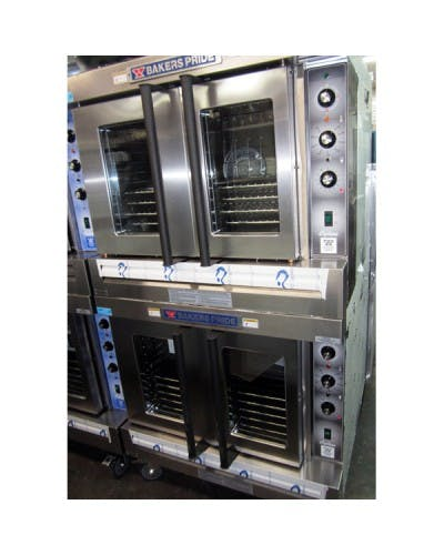 BAKERS PRIDE GDCO-E2 CYCLONE SERIES ELECTRIC CONVECTION OVEN DOUBLE DECK Convection oven sold by NJ Restaurant Equipment
