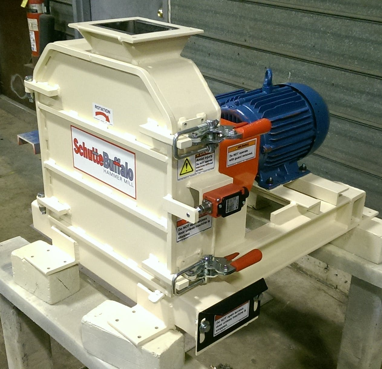 Schutte Buffalo Model H-28 Hammer Mill Grinder sold by Schutte Buffalo LLC