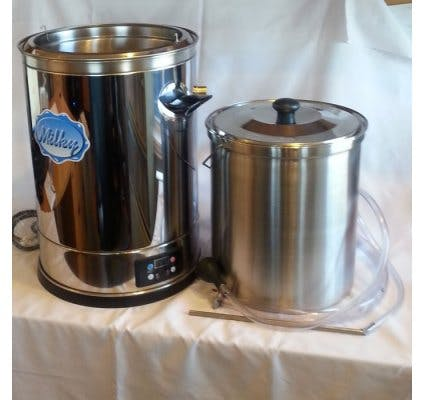 FJ15 Eco Minipasteurizer Pasteurizer sold by Homesteader's Supply